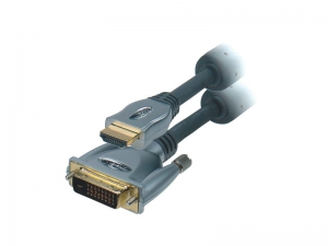 Markowy Kabel HDMI-DVI 5m PROLINK GOLD Exclusive
